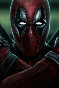 480x800 Deadpool 2 X Force Art