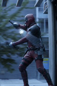 480x800 Deadpool And Cable In Deadpool 2