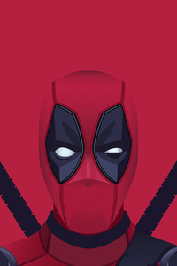 800x1280 Deadpool Arts 4k