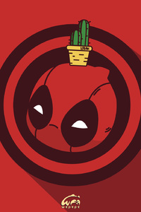 Deadpool Chibi Marvel Heroes