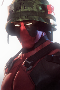 Deadpool Vietnam Solider