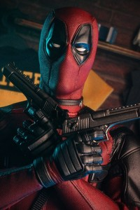 Deadpool With Guns 5k
