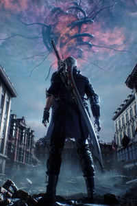 1280x2120 Devil May Cry 5 Key Art 4k