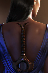 320x568 Diana Prince Sword Artwork