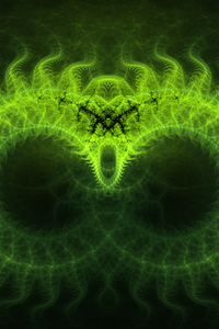 360x640 Digital Art Abstract Green