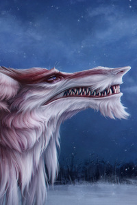 480x854 Digital Dragon Fantasy Feral