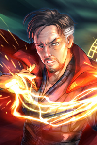 320x568 Doctor Strange Fan Made Artwork