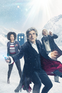 1080x1920 Doctor Who Season 10 Christmas Special 5k
