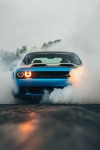 1080x1920 Dodge Challenger Hellcat Orange Eye