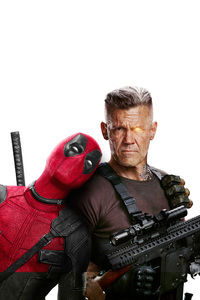 Domino Deadpool And Cable In Deadpool 2