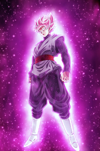 Dragon Ball Super Super Saiyan Rose