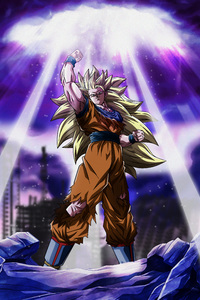 320x568 Dragon Ball Z Goku 5k
