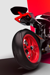 1125x2436 Ducati Zero Electric 2020 Rear