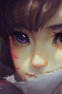Dva Overwatch Art Hd