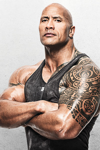 1440x2560 Dwayne Johnson 5k