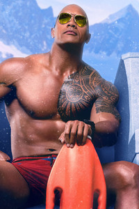 Dwayne Johnson Baywatch