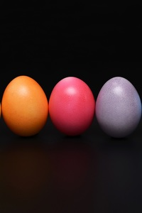 1080x2160 Easter Eggs Colorful