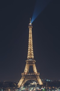 2160x3840 Eiffel Tower Nightscape