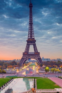 320x480 Eiffel Tower Paris Beautiful View
