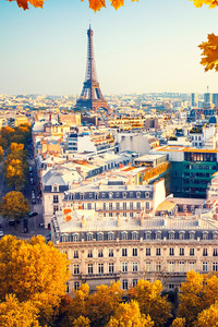 1440x2960 Eiffel Tower Paris City Autumn 4k 5k