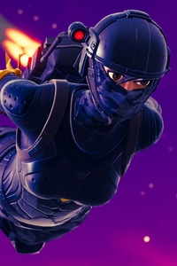 2160x3840 Elite Agent Skydive Fortnite Battle Royale
