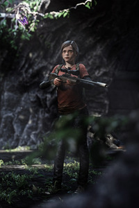 320x568 Elle The Last Of Us 3d Art