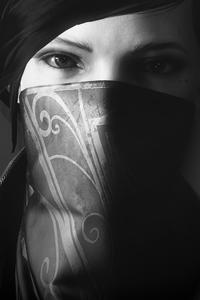 640x1136 Emily Kaldwin Deep Eyes Dishonored 2 4k