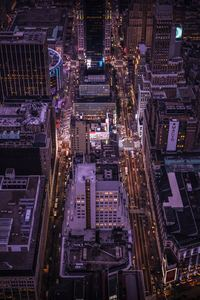 1080x2280 Empire State Building Top View 8k