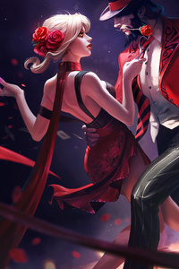 1080x1920 Evelynn And Twisted Fate League Of Legends
