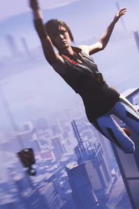 640x1136 Faith Connors Mirrors Edge Catalyst 5k