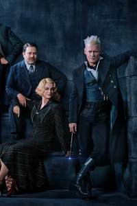 320x480 Fantastic Beasts The Crimes Of Grindelwald 2018 Cast