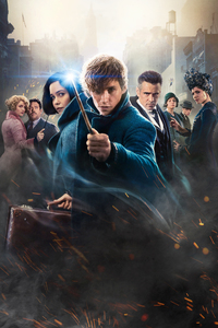 1440x2960 Fantastic Beasts The Crimes Of Grindelwald Movie Poster
