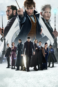 1280x2120 Fantastic Beasts The Crimes Of Grindlewald New Poster