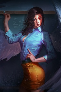 540x960 Fantasy Angel Teacher