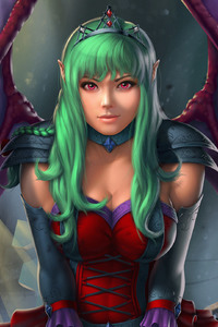 750x1334 Fantasy Demon Girl