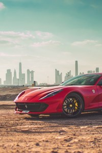 720x1280 Ferrari 812 SuperFast 4k