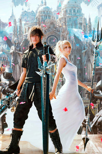 2160x3840 Final Fantasy Xv Artwork
