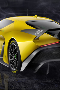 1280x2120 Fittipaldi EF7 Vision Gran Turismo Limited Edition Rear 5k
