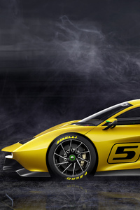 1280x2120 Fittipaldi EF7 Vision Gran Turismo Limited Edition Side View