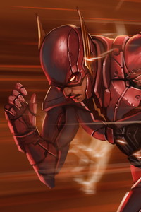 Flash Dc Comics Art 4k