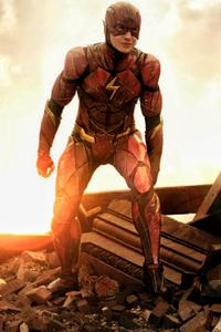 800x1280 Flash Justice League New