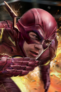 Flash The Man With Speed