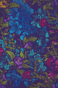 240x400 Floral Pattern Abstract