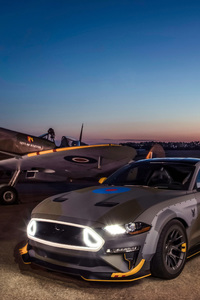 720x1280 Ford Eagle Squadron Mustang GT 4k