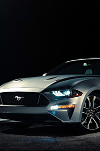 Ford Mustang 2018 Convertible 4k