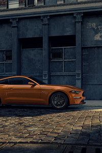320x568 Ford Mustang City Street