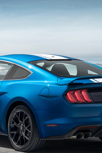480x800 Ford Mustang EcoBoost Performance Pack 1 2018 Rear