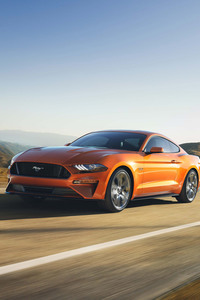 Ford Mustang GT 2018 4k