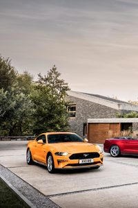 2160x3840 Ford Mustang GT Fastback And EcoBoost Convertible