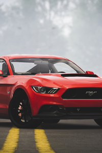 320x568 Ford Mustang The Crew 2 4k